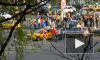 Фото: В Петербурге в ДТП с такси пострадали два человека