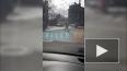 Видео: на площади Стачек прохожий с большой палкой ...