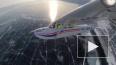 Экстремальную посадку самолета на лёд Байкала сняли ...