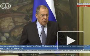 """Лавров и Маас обсудили завершение строительства """"Северного потока — 2"""""""