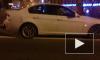 На Обуховском мосту ночью столкнулись 4 иномарки: есть жертвы