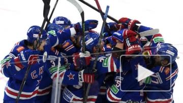 СКА обыграл ЦСКА в регулярном чемпионате КХЛ