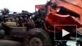 Видео: в Татарстане бензовоз протаранил фуру