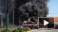 На Пискаревском проспекте сгорел трамвай, очевидцы ...