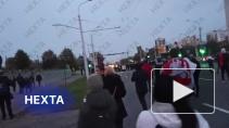 На протестных акциях в Белоруссии в воскресенье задержали 120 человек, ранены два силовика