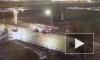 Видео с камер: на Народного Ополчения в ДТП пострадали водитель и пассажиры Audi