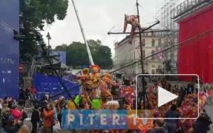 Подготовка Театральной олимпиады в Петербурге попала на видео
