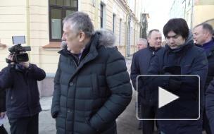 Видео: губернатор Ленинградской области Александр Дрозденко посетил Выборг