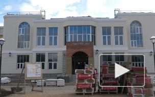 В Красносельском районе к декабрю построят новый ЗАГС