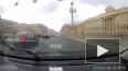 """Видео: у моста Александра Невского """"Газель"""" сбила ..."""