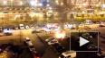 На парковке Богатырского проспекта вечером горел BMW