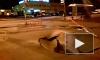 Петербург проваливается под землю: просевший асфальт шокировал жителей улицы Крыленко