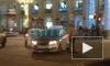 На Невскомпроспекте произошло сразу два ДТП с участием дорогих иномарок и такси