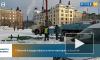 Последние части новогодних украшений убрали с Красной площади в Выборге