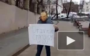 Российский писатель Роман Рословцев просит у Порошенко помощи