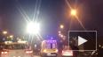 Видео: в аварии на КАД серьезно пострадал мотоциклист