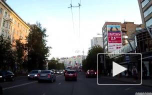 В Мурманске перевернулся автомобиль