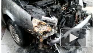У чиновника сожгли машину