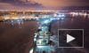 Питерские руферы забрались на кран ЗСД и сфотографировали город с высоты птичьего полета