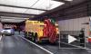 Видео из Москвы:В Алабяно-Балтийском тоннеле загорелся автобус