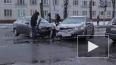Внезапный снег в Петербурге вызвал массу ДТП