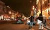 По Невскому проспекту в ночь промчался молодой человек на крыше автомобиля