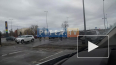 """Видео: на Гостилицком шоссе перевернулась """"Газель"""""""