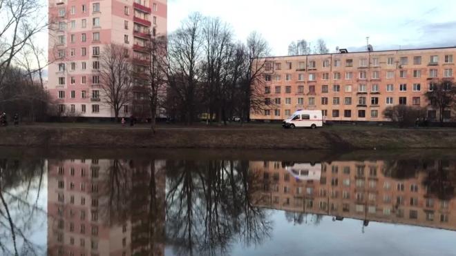 Забавное видео: в Кировском районе мужчина переплыл реку и на острове ждёт помощи спасателей