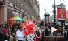 Петербуржцы на Невском встретили китайский Новый год