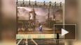 На Дворцовой площади установили картину с искусственным ...