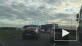 Видео: на Софийской улице перевернулась фура