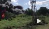 Сильный ветер мешает потушить пожар на Южнопортовой в Москве