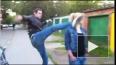 Полиция ищет парней, избивших ногами московскую школьниц...