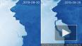 От ледника Эймери в Антарктиде откололся айсберг весом 3...