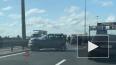 На юго-востоке Петербурга столкнулись три автомобиля
