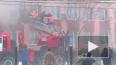 Видео: пожарные спасают детей из горящего лицея №14 ...