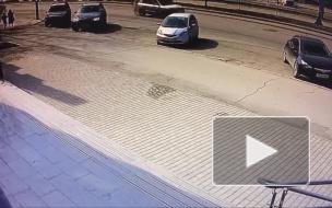 Переехал пешехода в Барнауле.