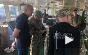 Опубликовано видео задержания российского судна Украиной