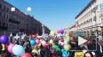 Центр Петербурга перед первомайским шествием перекрыли ...
