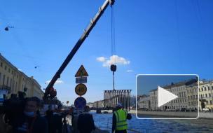 Капремонт участка набережной Фонтанки закончат в мае 2021 года
