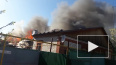 В Самаре загорелись несколько частных домов