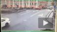 Появилось видео ДТП на перекрестке Гороховой и Грибоедова, ...