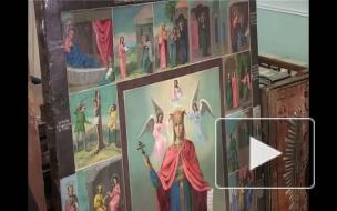 Правоохранители вернули епархии похищенные иконы