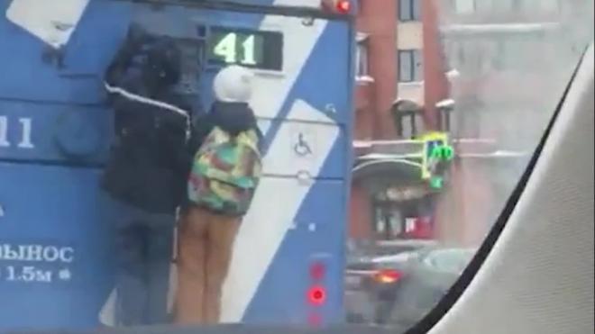 Видео: в Красносельском районе заметили зацеперов