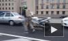 Восемь автолюбителей устроили драку с поножовщиной у моста Александра Невского
