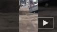 На Алтае из-за ям на дороге грузовик развалился пополам