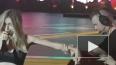 Появилось видео падения Веры Брежневой на концерте ...
