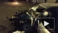 При столкновении Audi с грузовиком на Большеохтинском ...