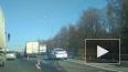 ДТП с двумя грузовиками и автобусом собрало пробку ...