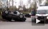 Серьезная авария произошла на Колтушском шоссе